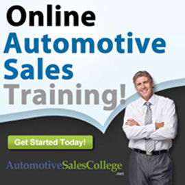 Automotive Sales College - Online Sales Process